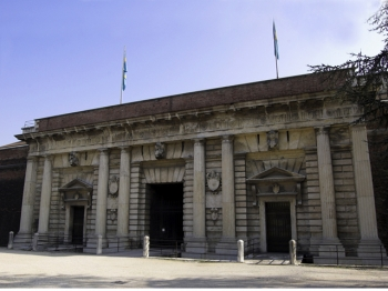 PORTA PALIO facciata esterna