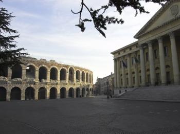 PIAZZA BRA | Arena e palazzo Barbieri |