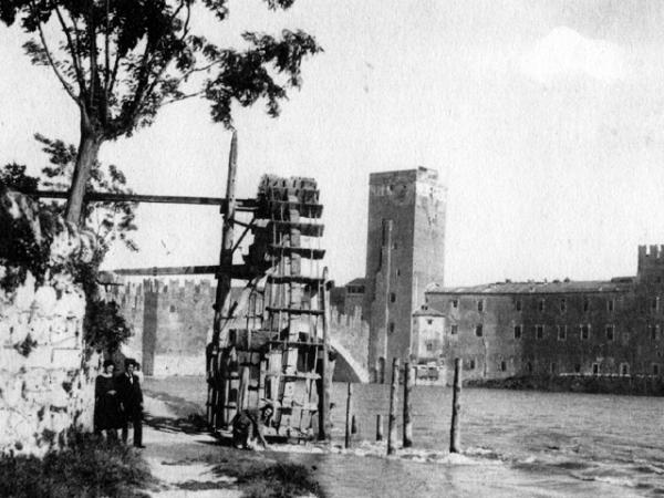 MULINI SUL FIUME ADIGE (1890)