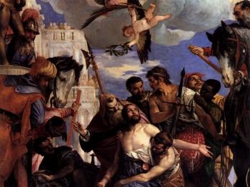 MARTIRIO SAN GIORGIO di Paolo Caliari