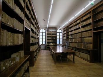 BIBLIOTECA CIVICA di Verona | sala teologia |