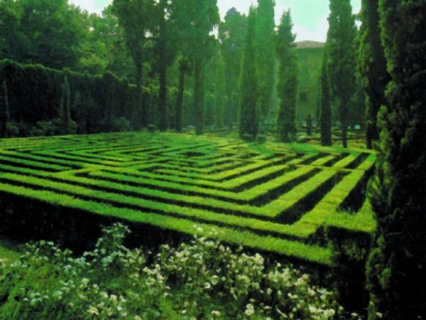 Monumenti di verona giardino giusti for Giardino labirinto