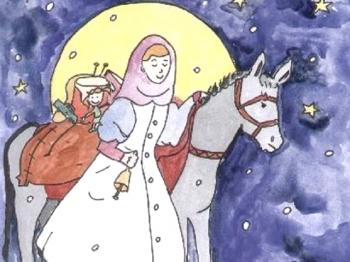 SANTA LUCIA porta i doni ai bambini