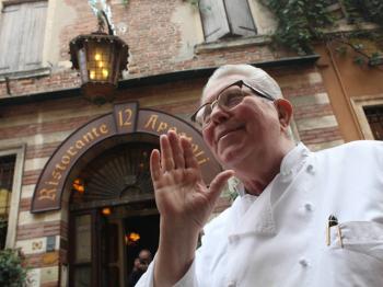 chef veronese GIORGIO GIOCO (1924-2019)