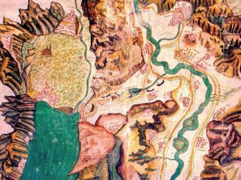 GALES PER MONTES mappa del percorso