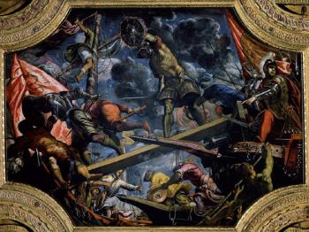 GALES PER MONTES dipinto del Tintoretto
