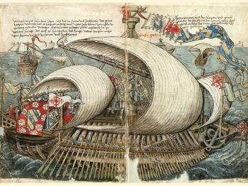 GALEA VENEZIA del XV-XVI secolo