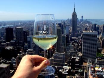 VINO SOAVE bevuto a New York