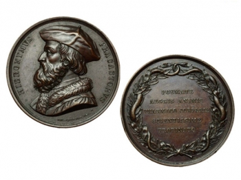 GIROLAMO FRACASTORO medaglia commemorativa