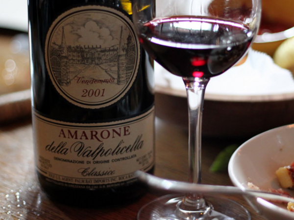 vino AMARONE DELLA VALPOLICELLA