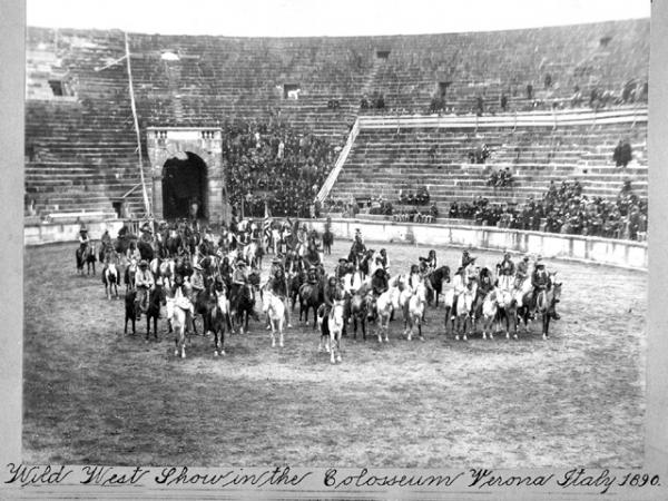 WILD WEST SHOW di Buffalo Bill in Arena