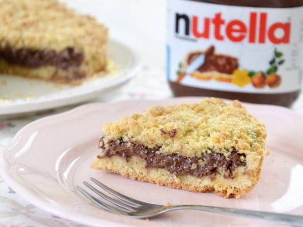 SBRISOLONA farcita con Nutella