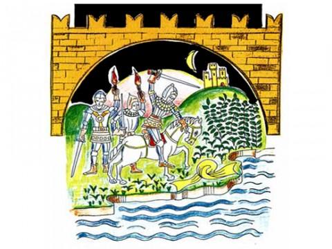 il Conte insegue gli amanti sino al fiume