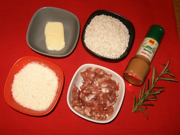 RISOTTO ALL'ISOLANA ingredienti