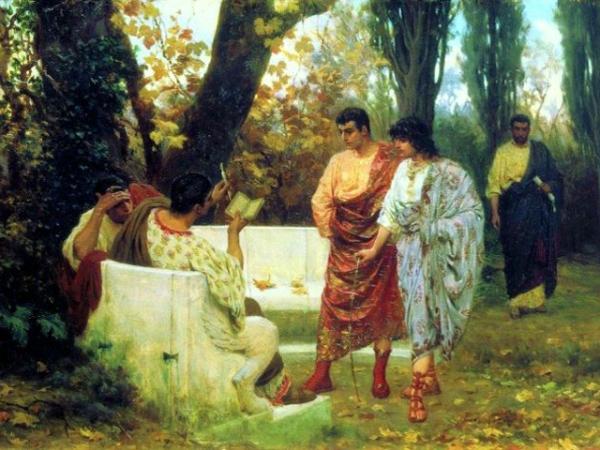VALERIO CATULLO dipinto di Stefano Bakalovich