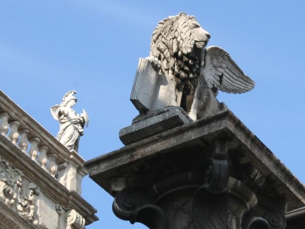 PIAZZA ERBE colonna di San Marco