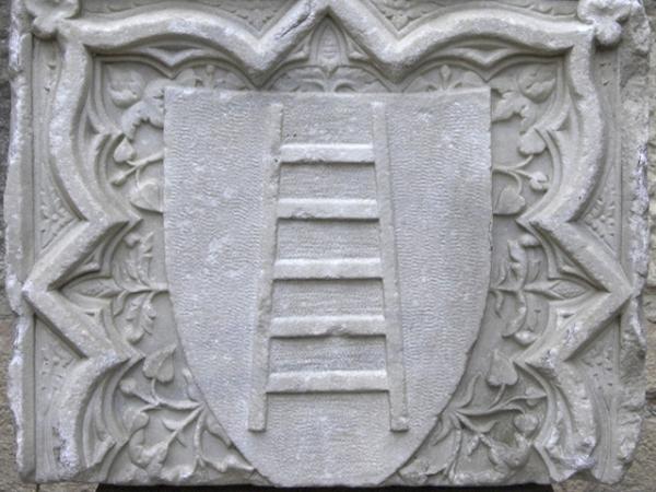 SCALIGERI fregio stemma di famiglia