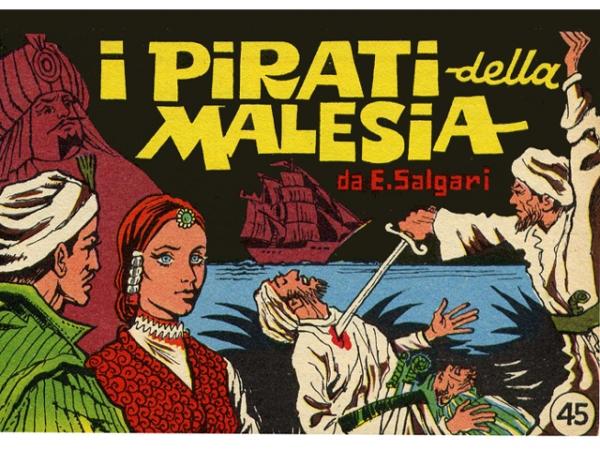 EMILIO SALGARI i pirati della Malesia