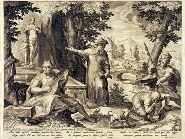 GIROLAMO FRACASTORO stampa del 1590