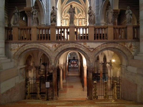 CHIESA SAN ZENO ingresso della cripta