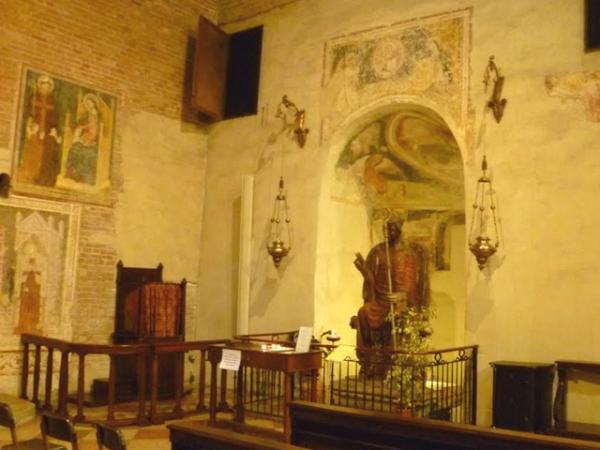 CHIESA SAN ZENO statua di San Zeno
