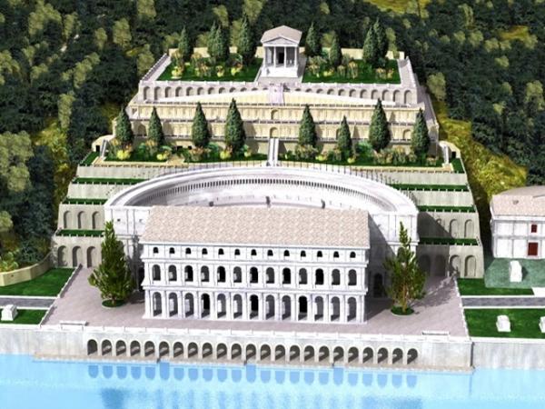 TEATRO ROMANO ricostruzione